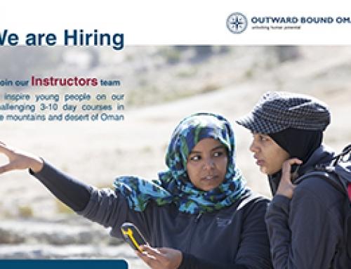 Trainee Instructor's Vacancy in Outward Bound Oman